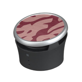 Abstract Wine Color Bluetooth Speaker