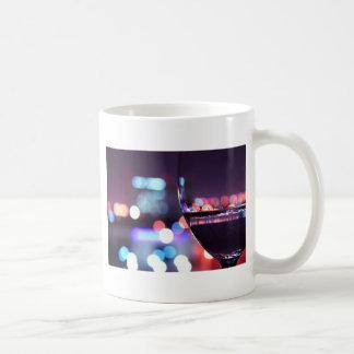 Abstract Wine Glass Coffee Mug