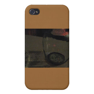 Abstract Wine Jug Tan Case iPhone 4 Cases