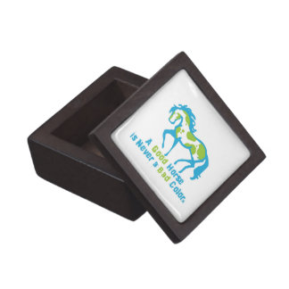 Abstract Wire Horse Art Jewelry Box