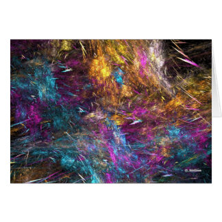 Abstract With Attitude Greeting Card