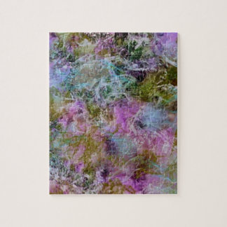 Abstract with swirling soft pastel colors jigsaw puzzle