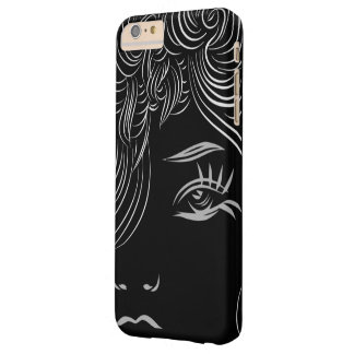 Abstract Woman Face Look Art Barely There iPhone 6 Plus Case