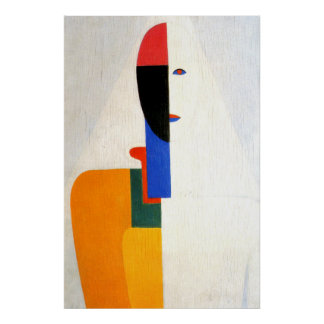 "Abstract ""Woman Torso"" Poster"