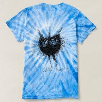 Abstract Women's Tie Dye Shirt