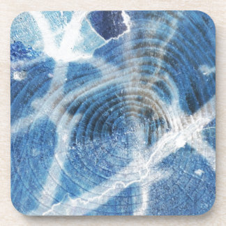 Abstract wood background design beverage coaster
