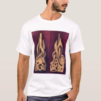 Abstract - Wood Carving T-Shirt