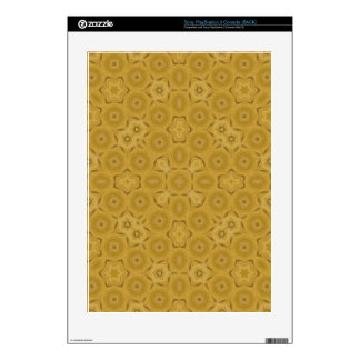 abstract wood colored skins for the PS3