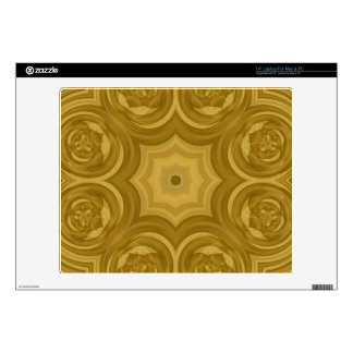 "Abstract Wood Pattern 14"" Laptop Decals"