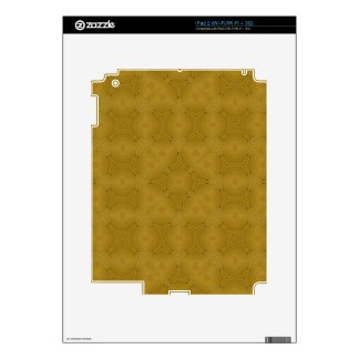 Abstract wood pattern decal for the iPad 2