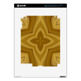 ABstract wood pattern iPad 3 Decal