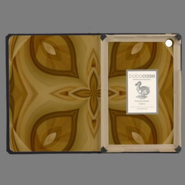 Abstract Wood Pattern iPad Mini Case