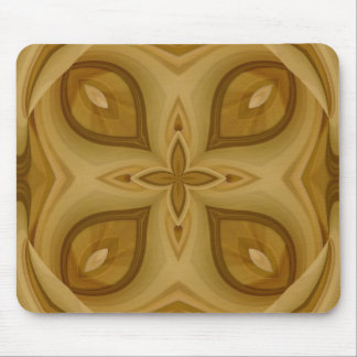 Abstract Wood Pattern Mouse Pad