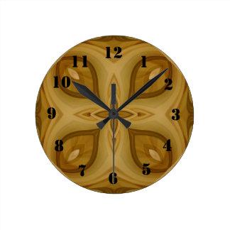Warped Wall Clocks Zazzle