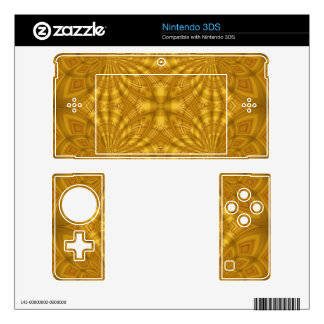 Abstract wood Pattern Skin For The Nintendo 3DS