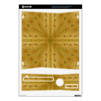 Abstract Wood Pattern Xbox 360 S Decal