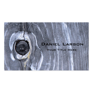 Abstract Wood Textured Business Card