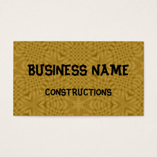 Abstract wooden pattern business card
