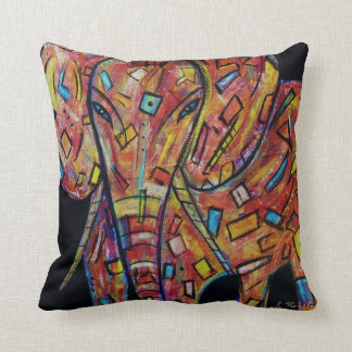 Abstract work, Elephant, Pillow