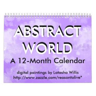 ABSTRACT WORLD 2011 CALENDAR