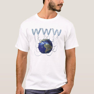 Abstract World Wide Web T-Shirt