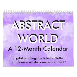 ABSTRACT WORLD CALENDAR