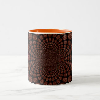 Abstract Worlds Alien Landscapes Two-Tone Coffee Mug