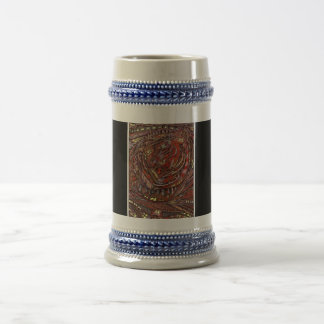 Abstract Worlds Beer Stein