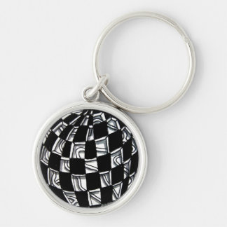 Abstract Worlds Gift Products Keychain