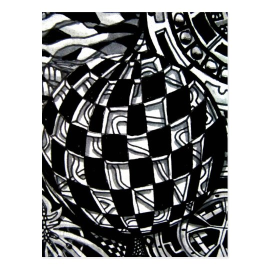 Abstract Worlds Gift Products Postcard