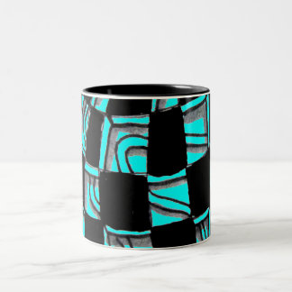 Abstract Worlds Gift Products Two-Tone Coffee Mug