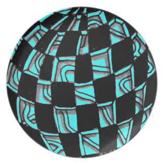 Abstract Worlds Plate