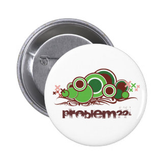 Abstract Worm Illustration Button