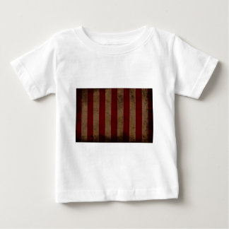 Abstract Worn American Flag Baby T-Shirt