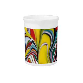 Abstract  -WOWCOCO Beverage Pitcher