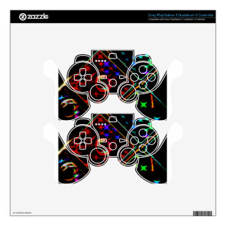 Abstract - WOWCOCO Decal For PS3 Controller