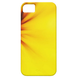 Abstract yellow background iPhone 5 case
