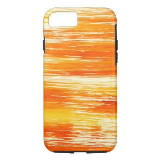 Abstract yellow background from watercolor iPhone 7 case