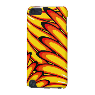 abstract yellow sunflowers iPod Touch Speck iPod Touch (5th Generation) Case