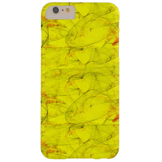 abstract yellow tint color barely there iPhone 6 plus case