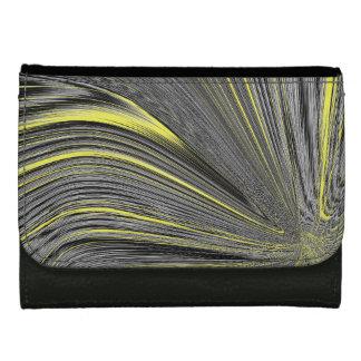 Abstract Yellow Warp Wallet