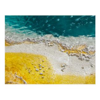 Abstract Yellowstone Postcard