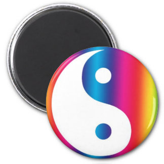 Abstract Yen Yang Locker, fridge or file cabinet Magnet