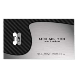 Abstract Yin Yang Graphic Design Business Card