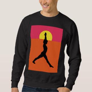 Abstract Yoga Pose Sweatshirt