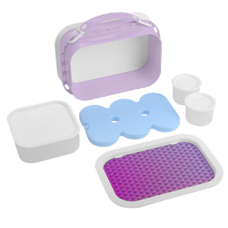 Abstract Yubo Lunchbox in Purple