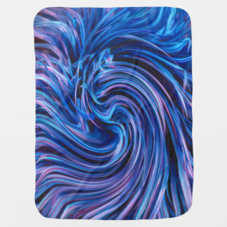 Abstract Stroller Blanket