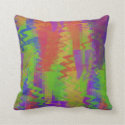 Abstract Zig Zag Pillow
