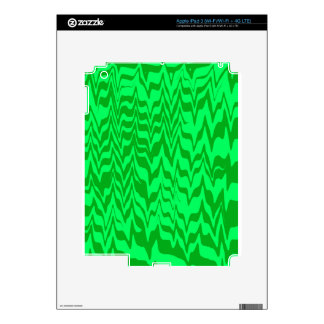 Abstract Zigzag iPad 3 Decals
