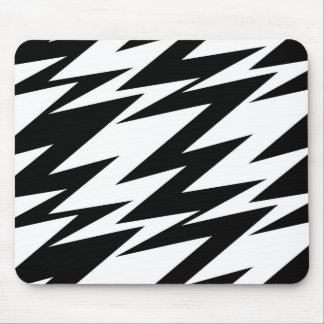 Abstract Zigzag Mouse Pad